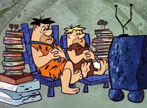 flintstones, spare time, revolution, Toby Elwin, blog