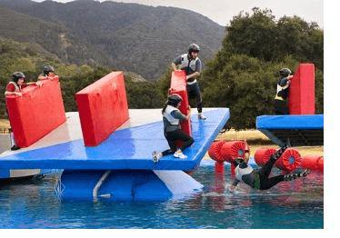 wipeout, communication, obstacle course, Toby Elwin, blog