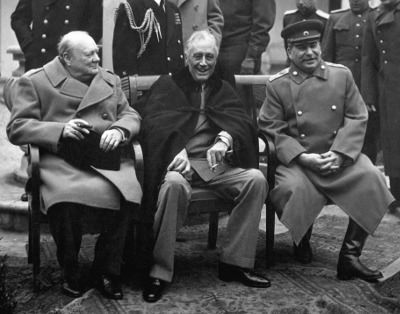 churchill, roosevelt, stalin, performance review, Toby Elwin, blog