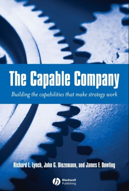 capable company, book, cover, Toby Elwin, blog