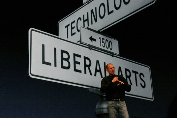 Steve Jobs, technology, liberal arts, innovation