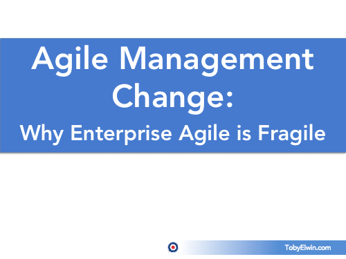Agile, change management, development, presentation