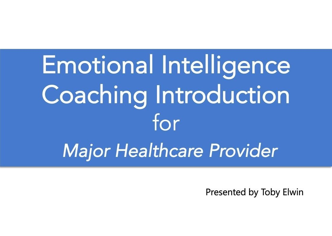 emotional intelligence, coaching, introduction, cover
