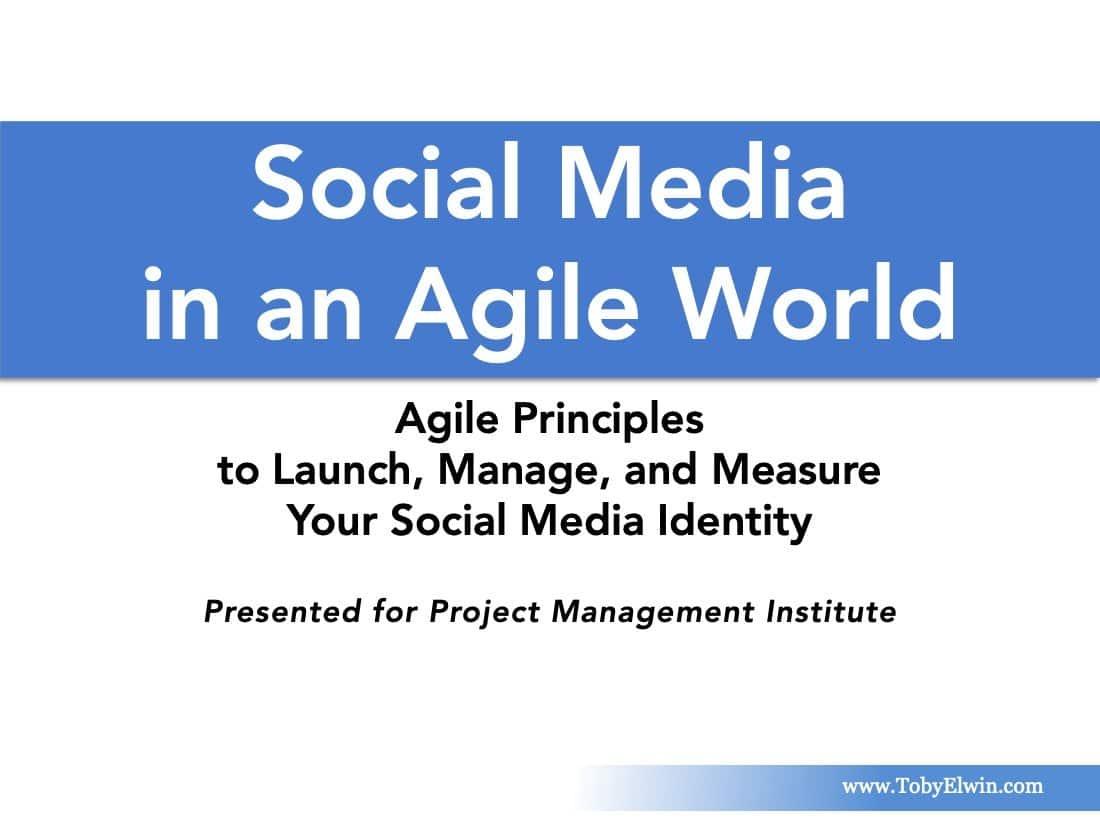 Social Media, Agile, presentation